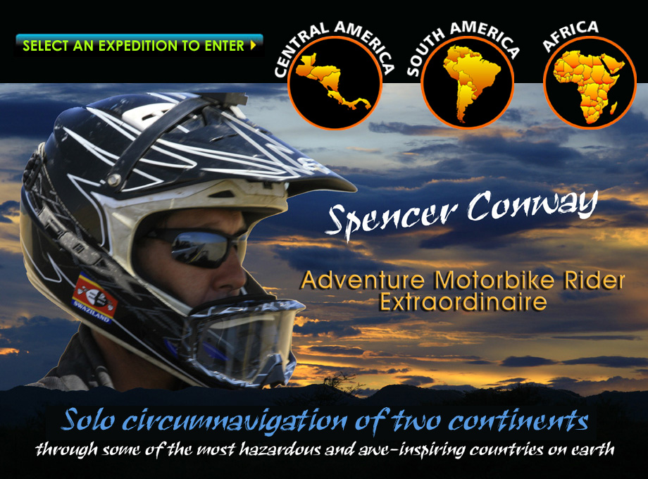 Spencer Conway - Adventure Motorbike Rider
