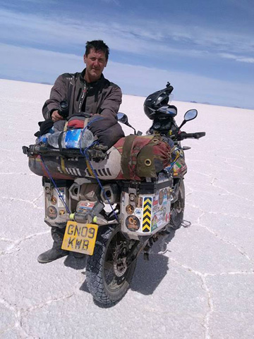 On the Salar Salt Pans before the Crash