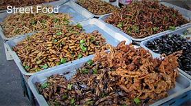 Street Food and Tasty Termites