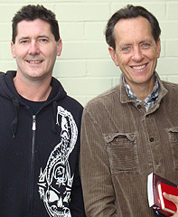 with richard e. grant