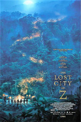 The Lost City Z Poster