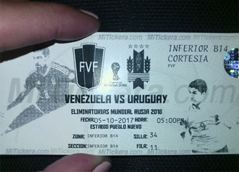 Matchday Ticket